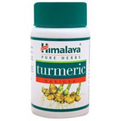 Himalaya Herbals Turmeric - na krevní oběh, játra, imunitní systém - antioxidant 60 kapslí