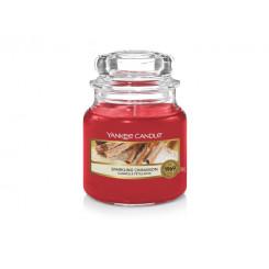 Yankee Candle Sparkling cinnamon vonná svíčka malá 104 g