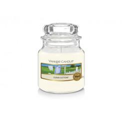Yankee Candle Clean Cotton vonná svíčka malá 104 g