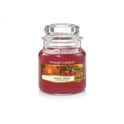 Yankee Candle Holiday hearth  vonná svíčka malá 104 g