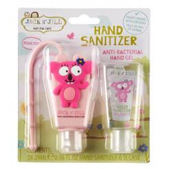 Jack n' Jill Antibakteriální gel na ruce pro děti - koala 2 x 29 ml + pouzdro