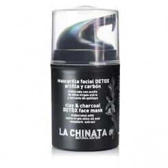 La Chinata Detoxikační Jílová Pleťová Maska s Uhlím 50 ml