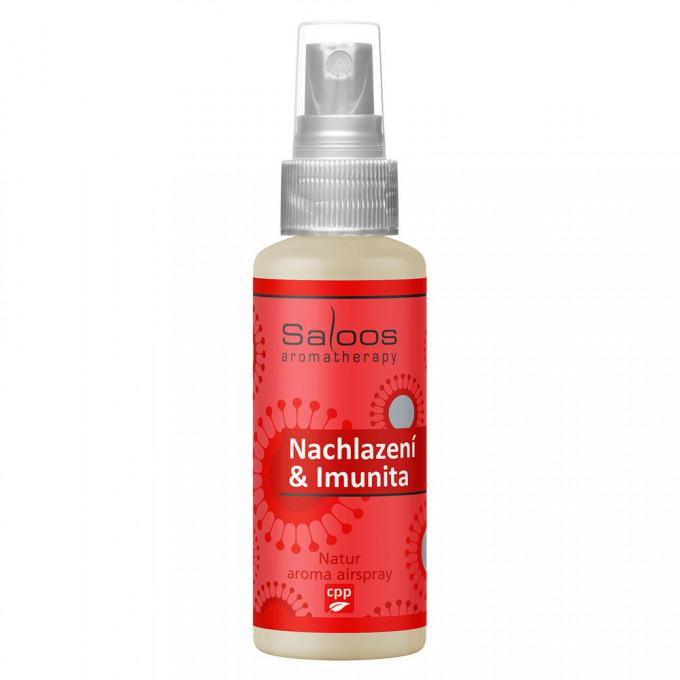 Saloos Natur aroma airspray - Nachlazení a Imunita 50 ml