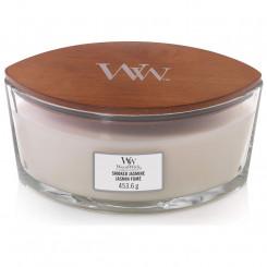 WoodWick Smoked Jasmine svíčka loď 453.6 g