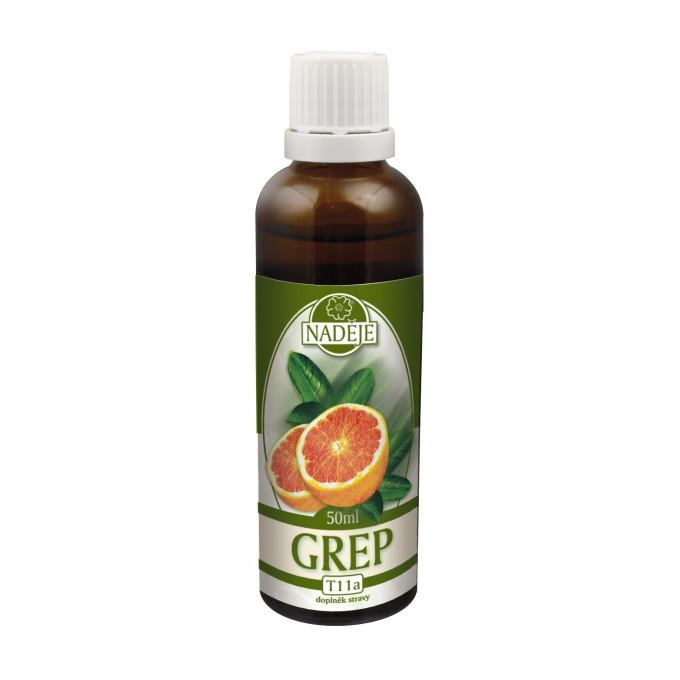 Naděje Grapefruit bylinná tinktura 50 ml