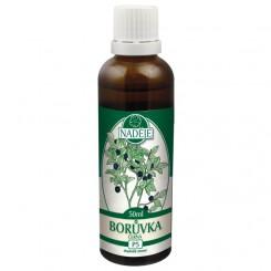 NADĚJE Borůvka černá 50 ml tinktura z pupenů rostlin