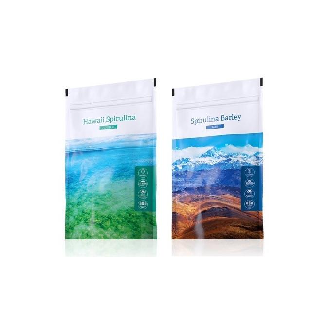 Spirulina prášek + Spirulina Barley