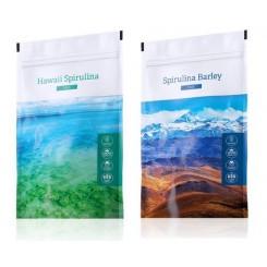 Spirulina tablety + Spirulina Barley
