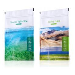 Spirulina tablety + Barley Juice tablety