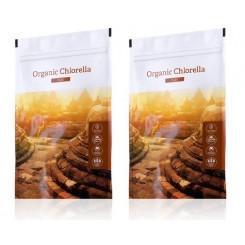 Organic Chlorella tablety 2set