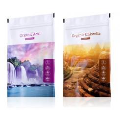 Acai prášek + Chlorella tablety