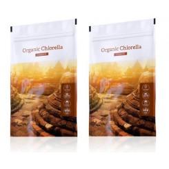 Organic Chlorella prášek 2set