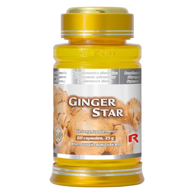 Ginger Star 60 kapslí