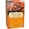 Numi čaj kurkumový Amber Sun se skořicí a vanilkou 12 sáčků