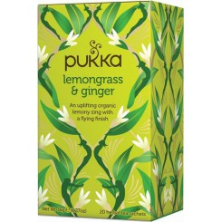 Pukka Čaj Lemongrass se zázvorem 20 sáčků