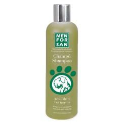 Menforsan Přírodní šampon proti svědění svýtažkem zoleje ztea tree