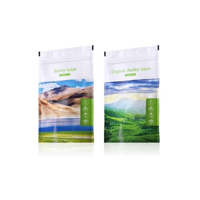Barley Juice tablety + Barley Juice prášek